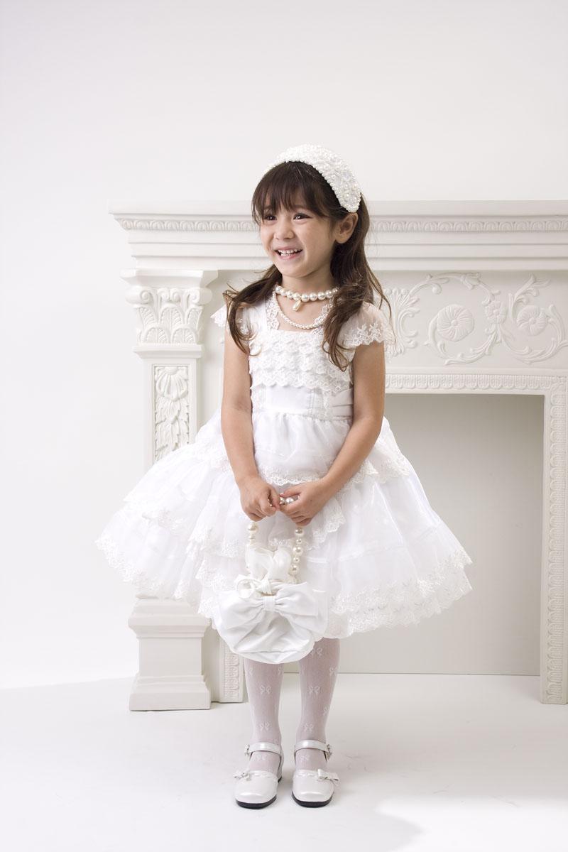 子供ドレス 純白