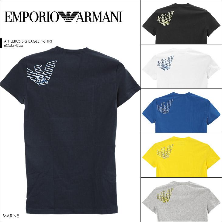 EMPORIO ARMANI エンポリオアルマーニ ATHLETICS BIG EAGLE 半袖 T-シャツ メイン画像