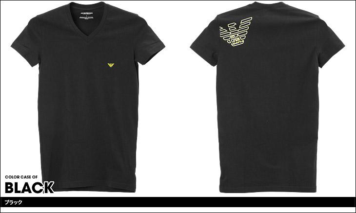 EMPORIO ARMANI エンポリオアルマーニ ATHLETICS BIG EAGLE 半袖 T-シャツ カラー画像