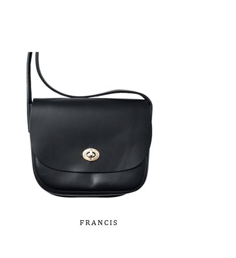 """Mimi(ミミ)<br>ベジタブルタンニングレザーショルダーバッグ""""FRANCIS"""" francis-mimi"""