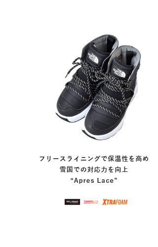 "THE NORTH FACE(ノースフェイス)<br>アプレレース""Apres Lace"" nf51881"