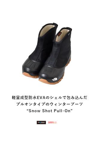 """THE NORTH FACE(ノースフェイス)<br>スノーショットプルオンショートブーツ""""Snow Shot Pull-On"""