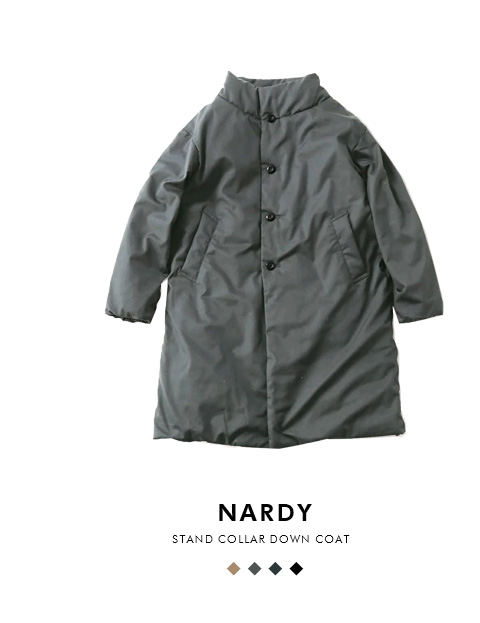 "The Loft Labo(ロフトラボ)×NANGA(ナンガ)<br>スタンドカラーダウンコート""NARDY"" tl18fjk22"