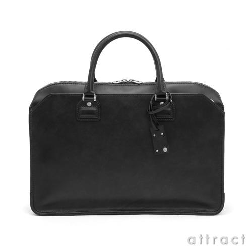 HERGOPOCH エルゴポック Waxed Leather 06 Series  三方ファスナー ダブルジップ ブリーフケース 2Wayショルダーバッグ(06-BF-S)