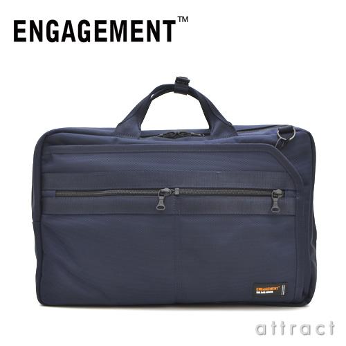 ENGAGEMENT エンゲージメント エンゲージド・ナイロン 3way ブリーフケース バックバック(EGBF-008)