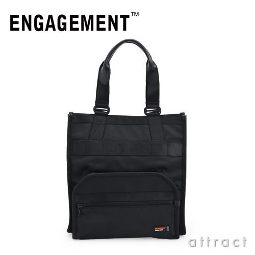 ENGAGEMENT エンゲージメント エンゲージド・ナイロン トートバッグ スーツケース対応(EGTT-001)