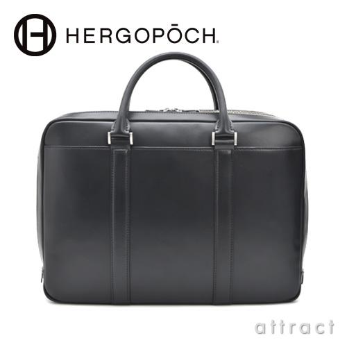 HERGOPOCH エルゴポック Waxed Leather 06 Series Sマチ 2way ブリーフケース ショルダーストラップ付(06-BF-3)