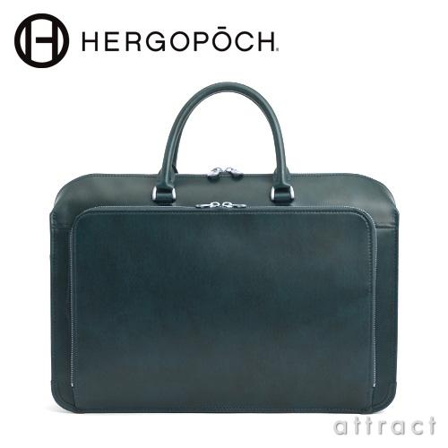 HERGOPOCH エルゴポック Waxed Leather 06 Series フロントジップ 2wayブリーフケース(06-BFR)