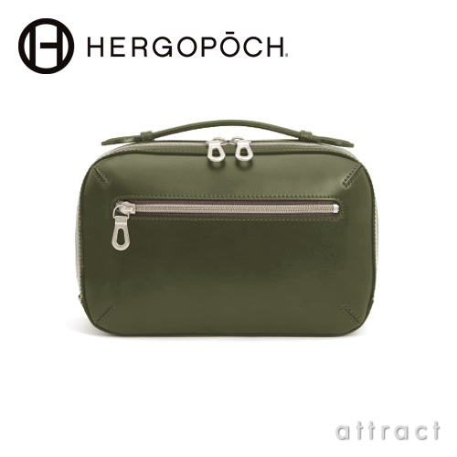HERGOPOCH エルゴポック Waxed Leather 06 Series 2way ボックスショルダーバッグ(06-BS)
