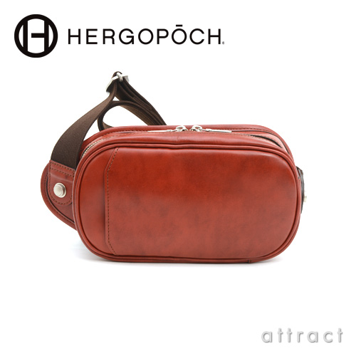 HERGOPOCH エルゴポック Waxed Leather 06 Series 2way ミニショルダーバッグ(06-MS)