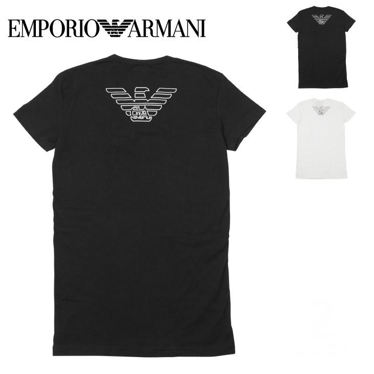EMPORIO ARMANI エンポリオアルマーニ STRETCH COTTON V-NECK T-SHIRT メンズ 半袖 Vネック Tシャツ メイン画像