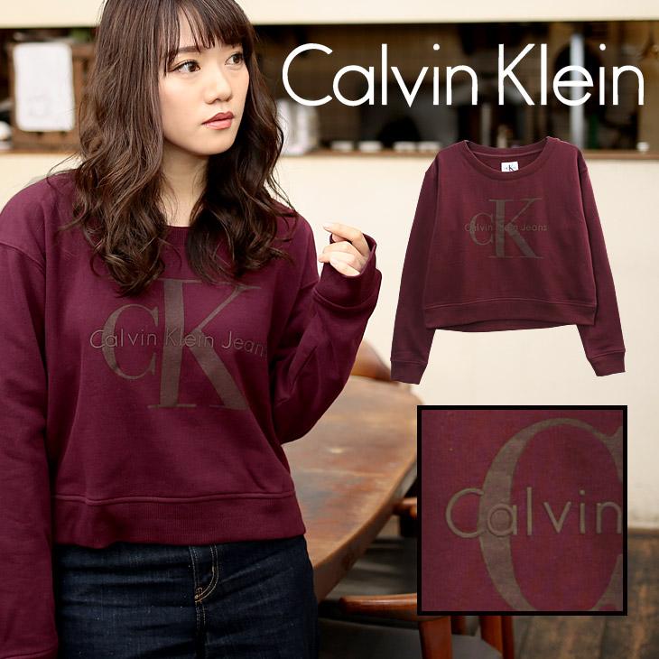 Calvin Klein カルバンクライン TONAL LOGO レディース スウェット メイン画像