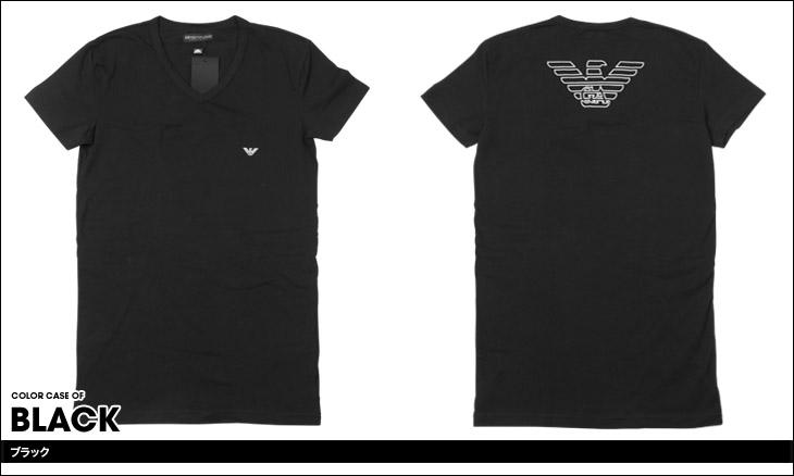EMPORIO ARMANI エンポリオアルマーニ STRETCH COTTON V-NECK T-SHIRT メンズ 半袖 Vネック Tシャツ カラー画像