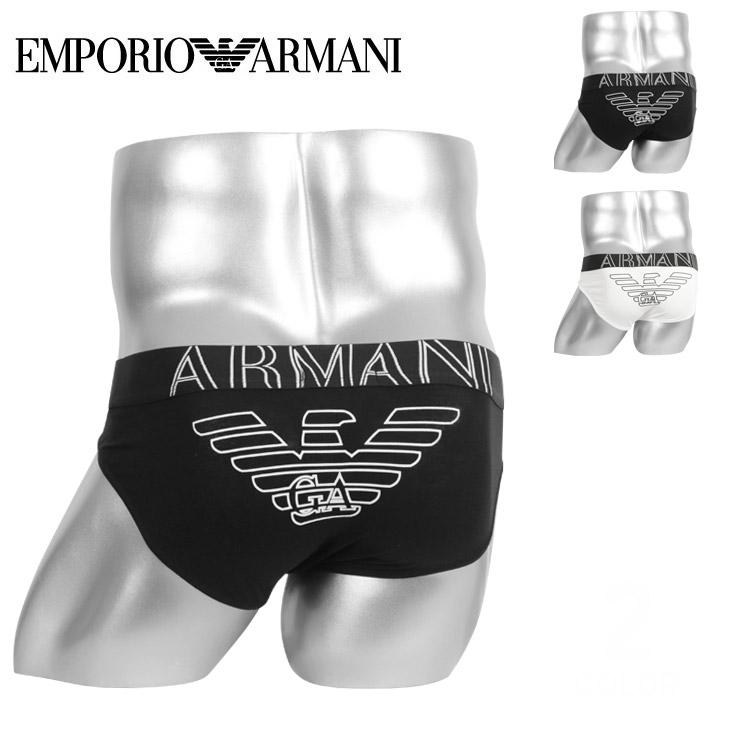 EMPORIO ARMANI エンポリオアルマーニ  STRETCH COTTON BRIEF メンズ ブリーフ メイン画像
