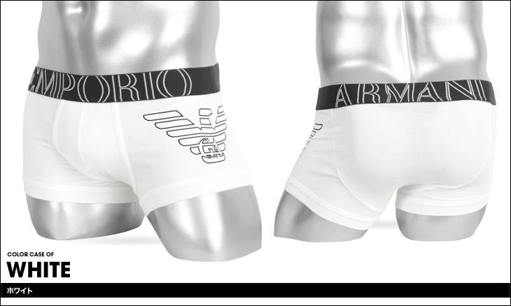 EMPORIO ARMANI エンポリオアルマーニ STRETCH COTTON TRUNK メンズ ローライズボクサーパンツ カラー画像