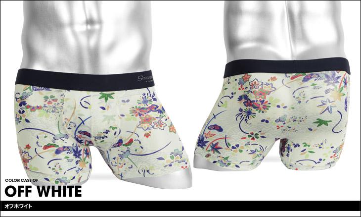 Gravevault グレイブボールト 花籠 メンズ ショートボクサーパンツ カラー画像