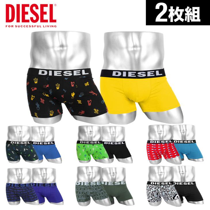 DIESEL ディーゼル DIESEL-PACK 2枚組 セット ボクサーパンツ メイン画像