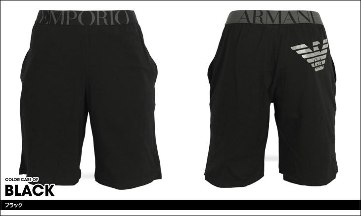EMPORIO ARMANI エンポリオアルマーニ Sorte Shorts メンズ ハーフパンツ カラー画像