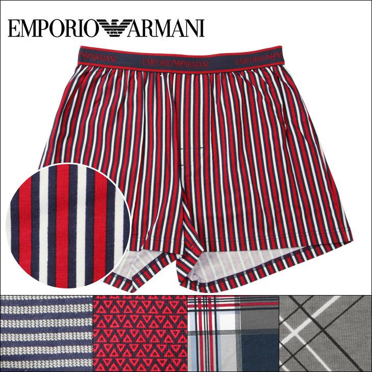EMPORIO ARMANI エンポリオアルマーニ FANCY PATTERN MIX メンズ トランクス メイン画像