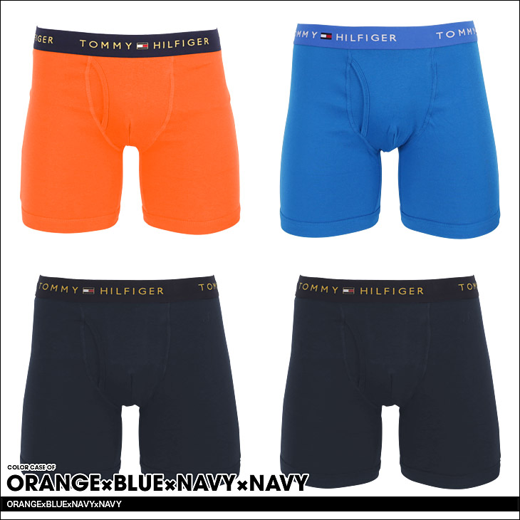 TOMMY HILFIGER トミー ヒルフィガー 4pack CLASSIC BOXER BRIEFS ボクサーパンツ カラー画像