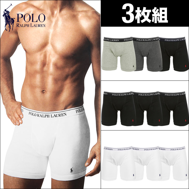 ◎送料込み◎Polo Ralph Lauren Briefs In 3 Pack