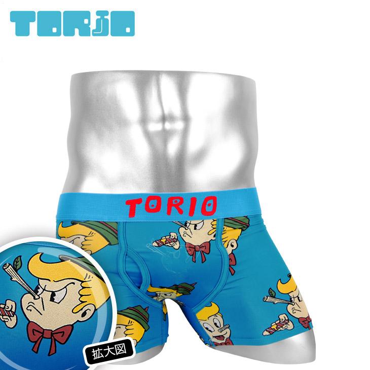 TORIO トリオ ピノキオ メンズ ボクサーパンツ メイン画像