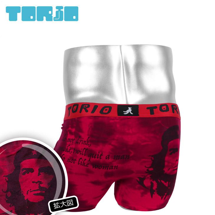TORIO トリオ ゲバラ メンズ ボクサーパンツ メイン画像