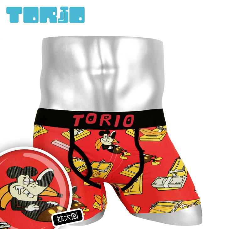 TORIO トリオ TRAP メンズ ボクサーパンツ メイン画像